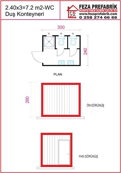 2.4×3=7.2m2_WC-Dus