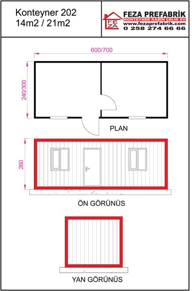 Ofis Yaşam Konteyner 202